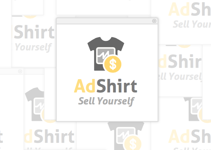 A logo for adshirt.